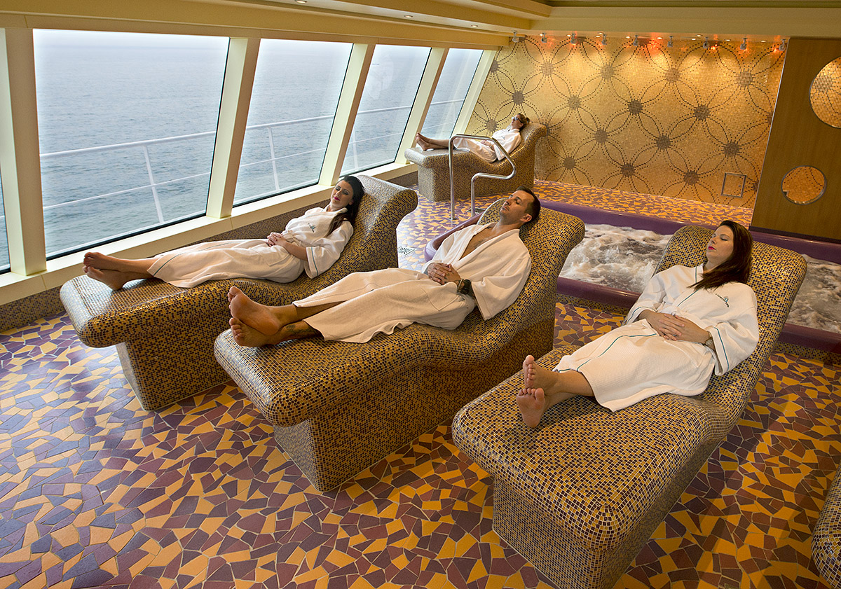 spa carnival heated loungers