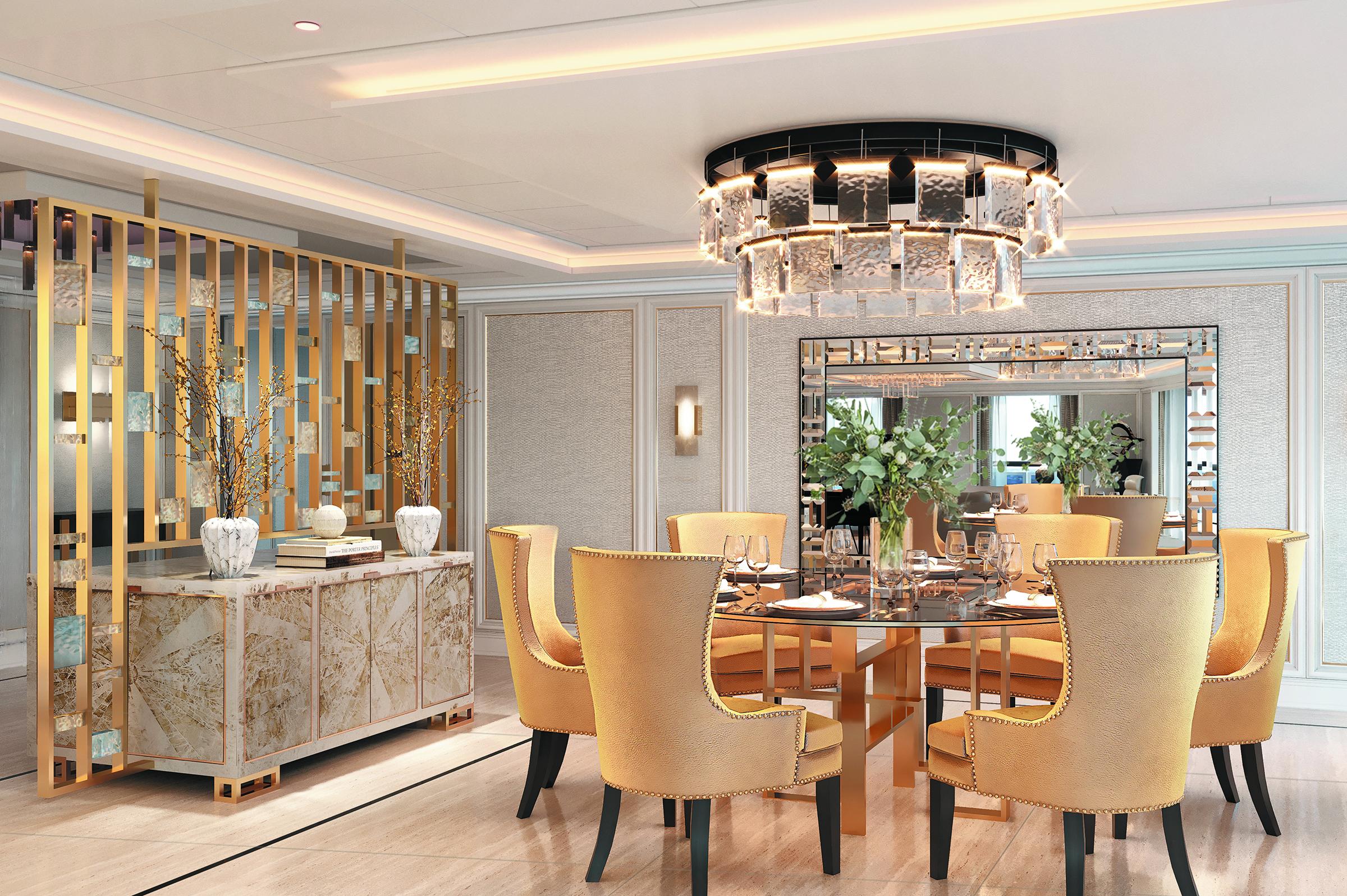 SPL Regent Suite Dining Area