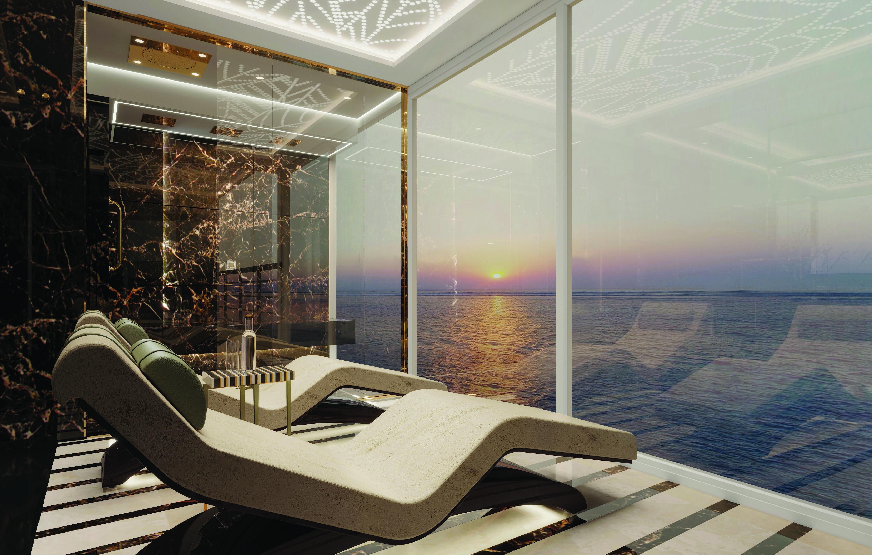 SPL Regent Suite Master Bath Chairs