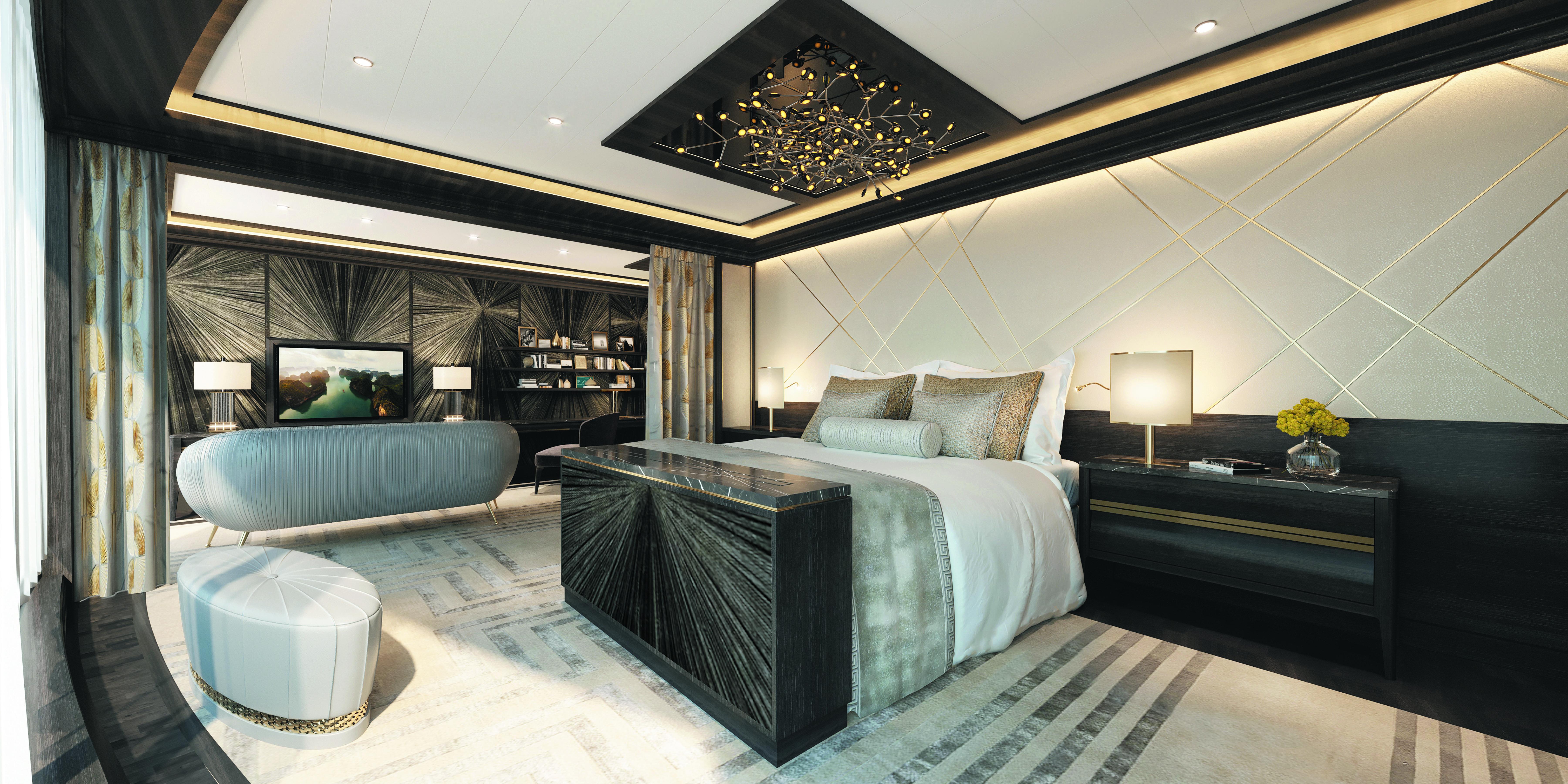 Regent Explorer master bedroom $200000 bed