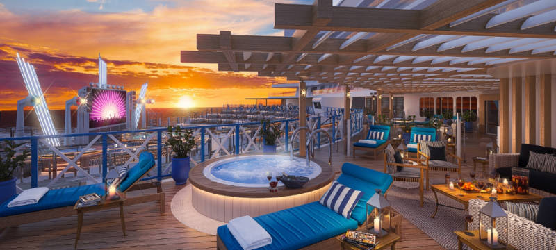 Dream Cruises outdoor deck