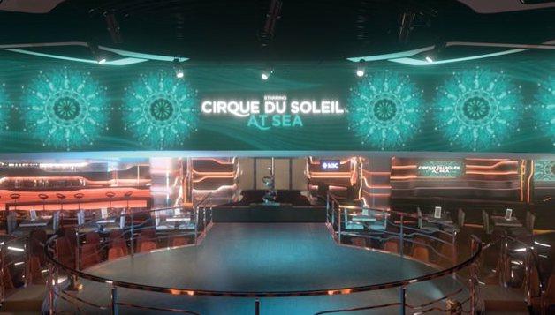 MSC Cruises Grandiosa cruise ship Cirque Du Soleil