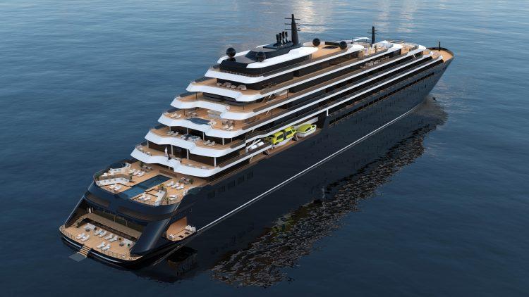 Ritz Carlton Yacht Exterior Aft View
