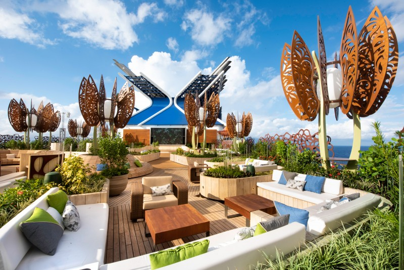 Celebrity Cruises Edge Garden