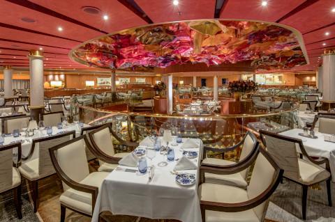 Holland America Noordam dining room