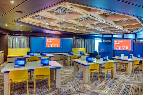 Holland America Noordam computer center