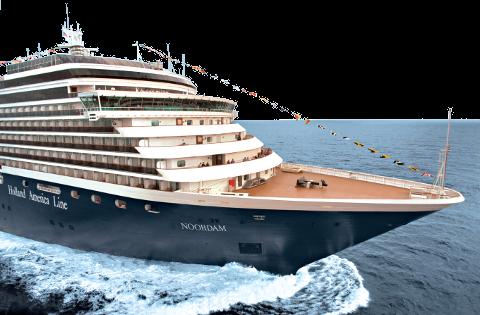 Holland America Noordam Exterior bow