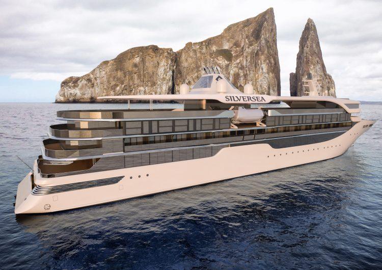 silversea origin cruise ship exterior starboard