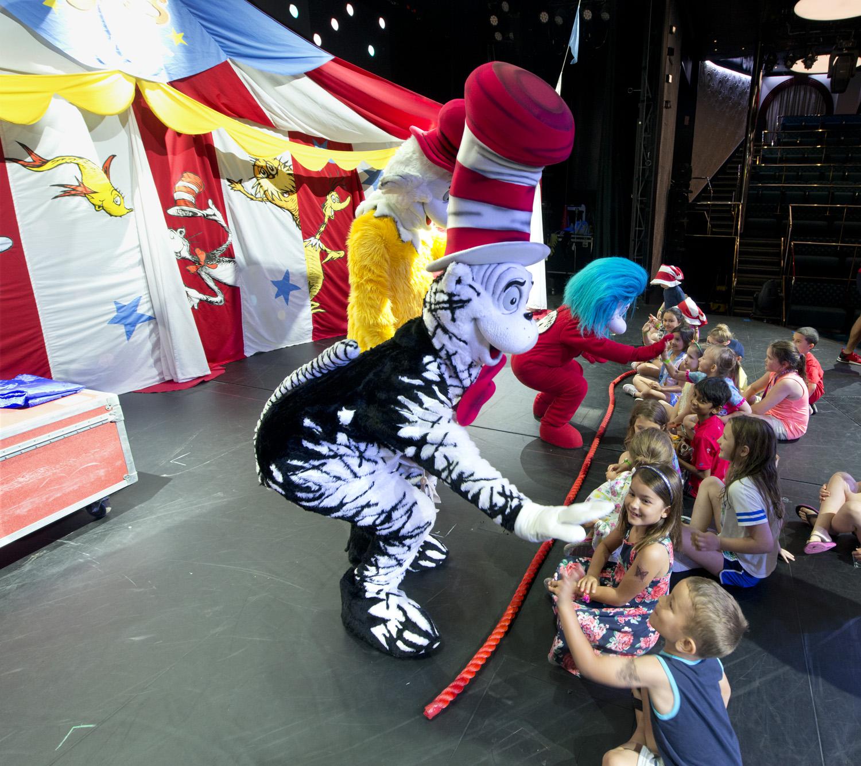 Carnival Sunrise Dr. Seuss characters