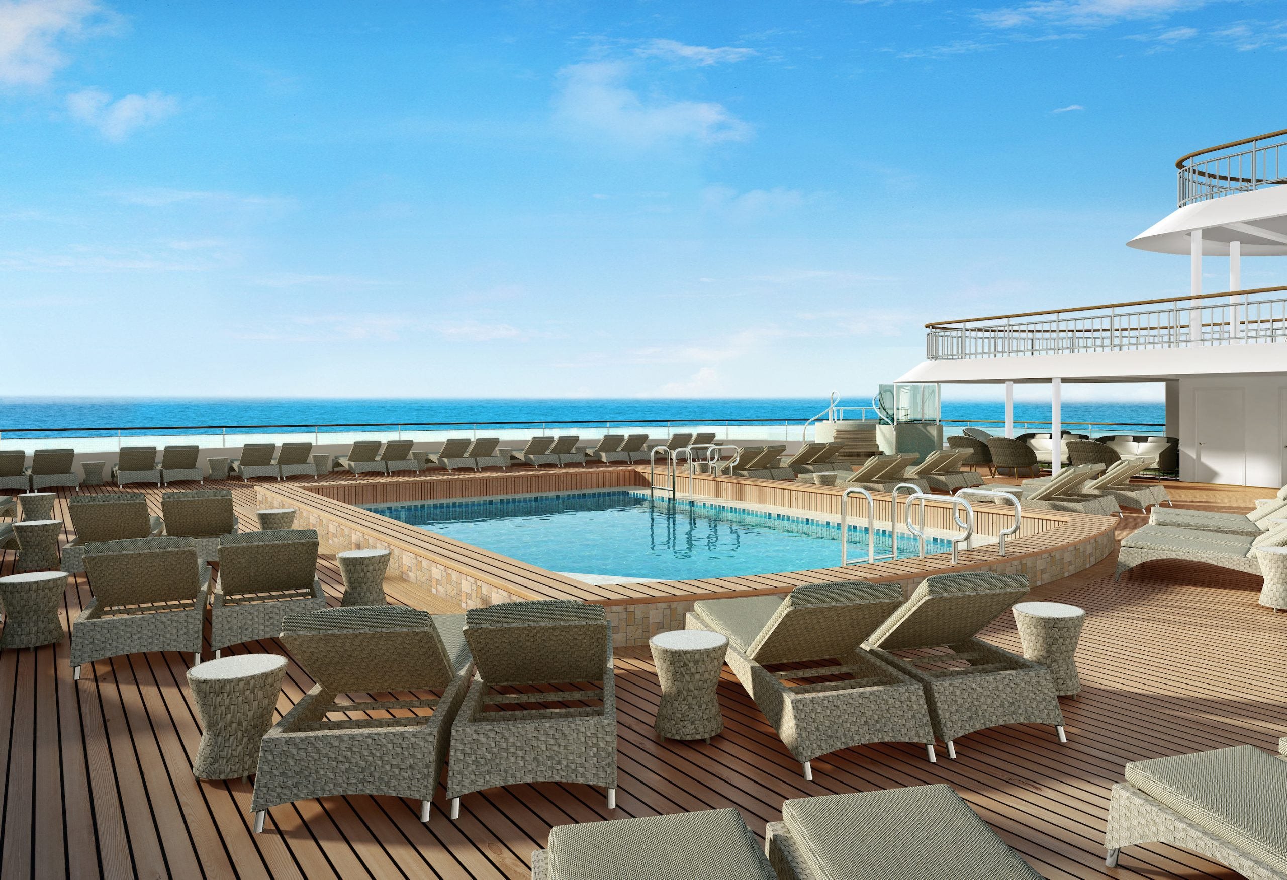 Norwegian cruise line Spirit cruise ship Spice H2O pool