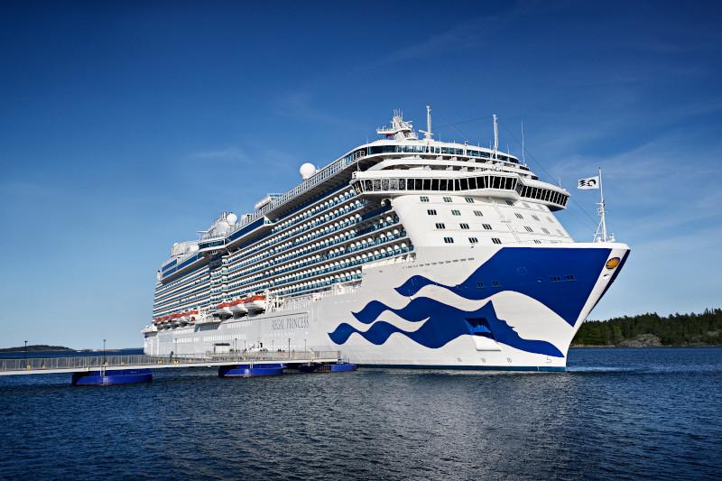 Princess Cruises Regal Princess cruise ship vow renewal world record