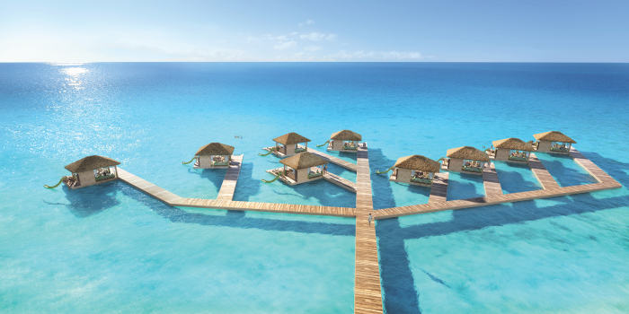 Royal Caribbean Perfect Day Floating Cabanas