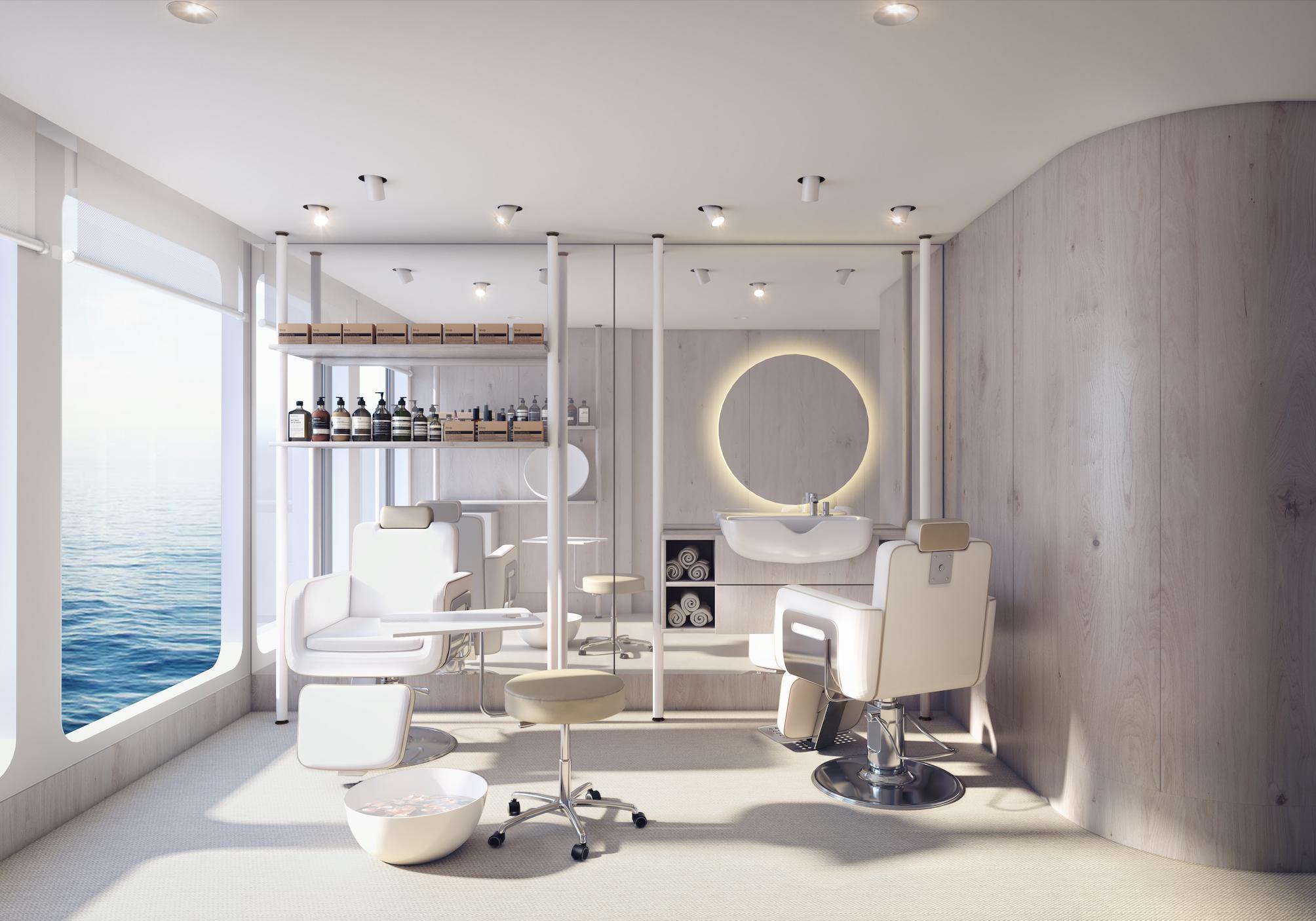 silversea Origin ruise ship salon