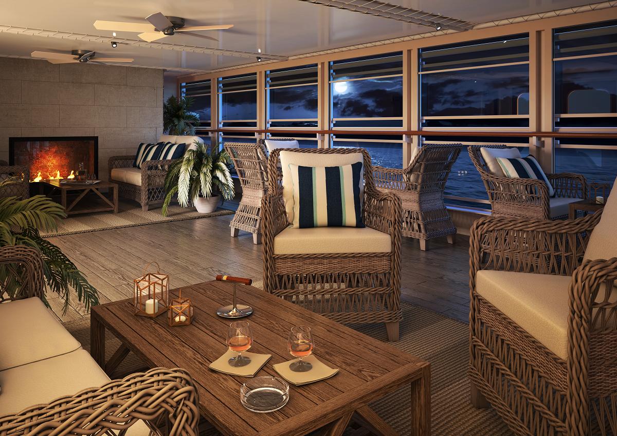Silversea Cruises Silver Moon Connoisseur Lounge