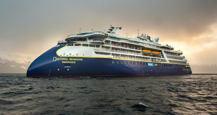 Lindblad Expeditions National Geographic Endurance cruise ship starboard