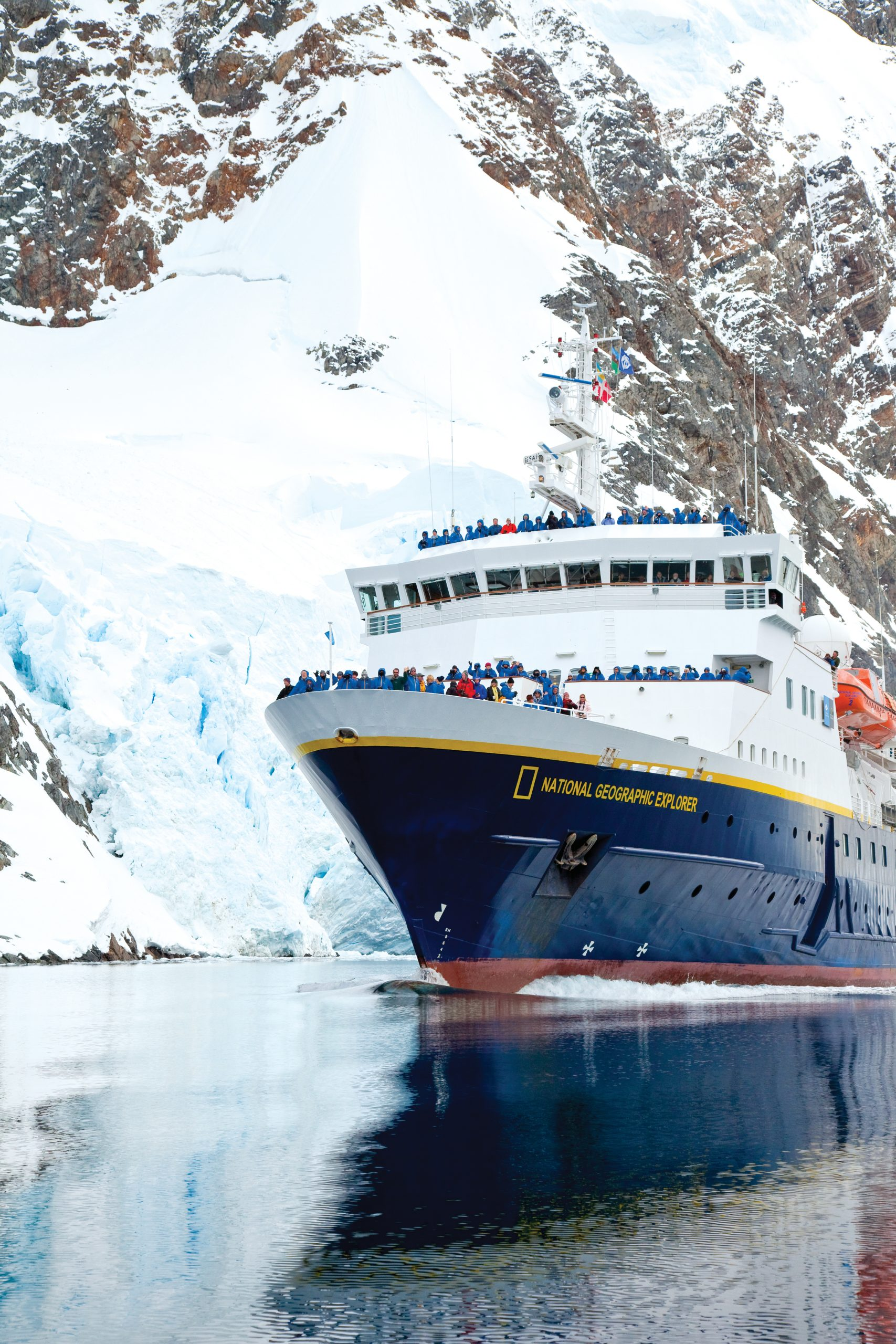 Lindblad Expeditions National Geographic Explorer bow