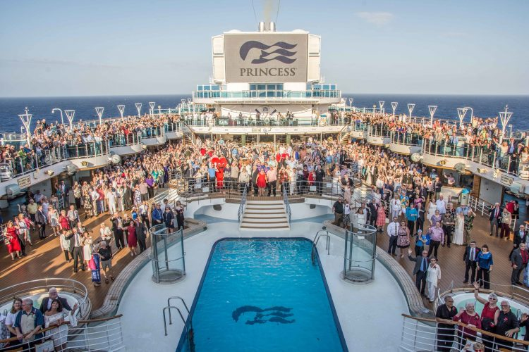 Princess Cruises Vow Renewal guinness world record gavin macleod love boat