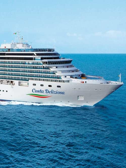 Costa Cruise Deliziosa cruise ship world cruise coronavirus