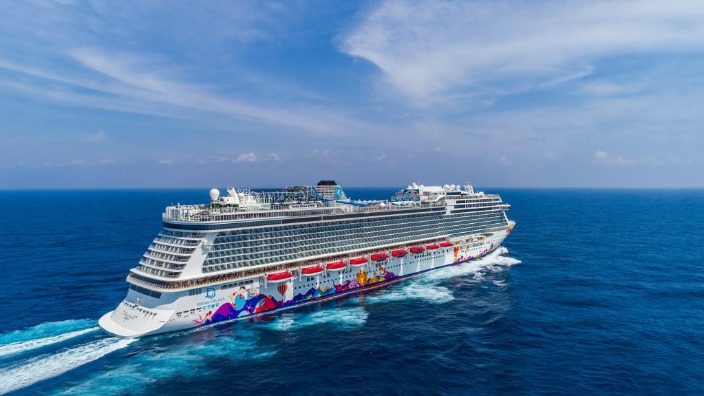 dream cruises world dream aerial