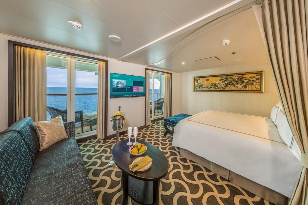 dream cruises world dream palace suite cabin