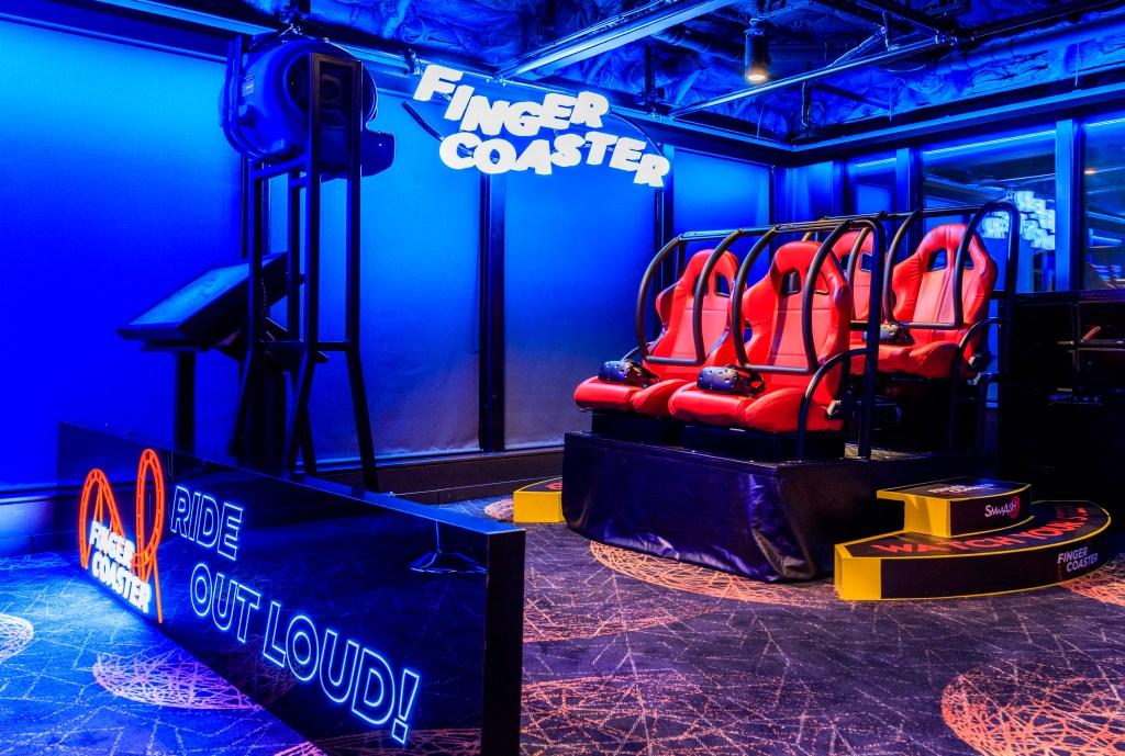 dream cruises world dream experience lab rollercoaster